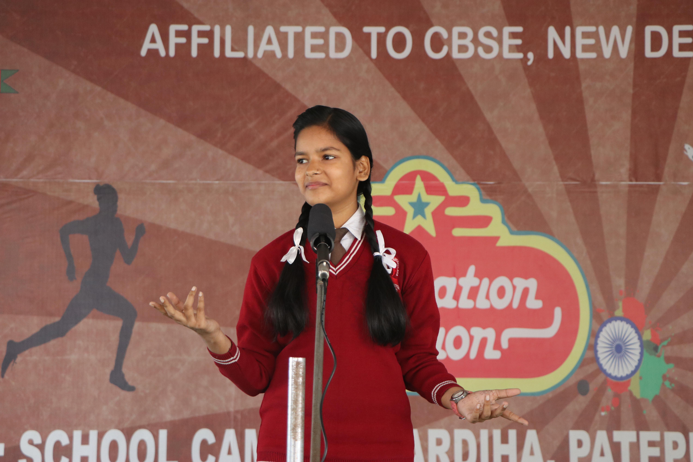 Story Telling at Lakshya Academy